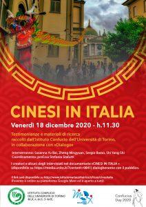 CINESI IN ITALIA