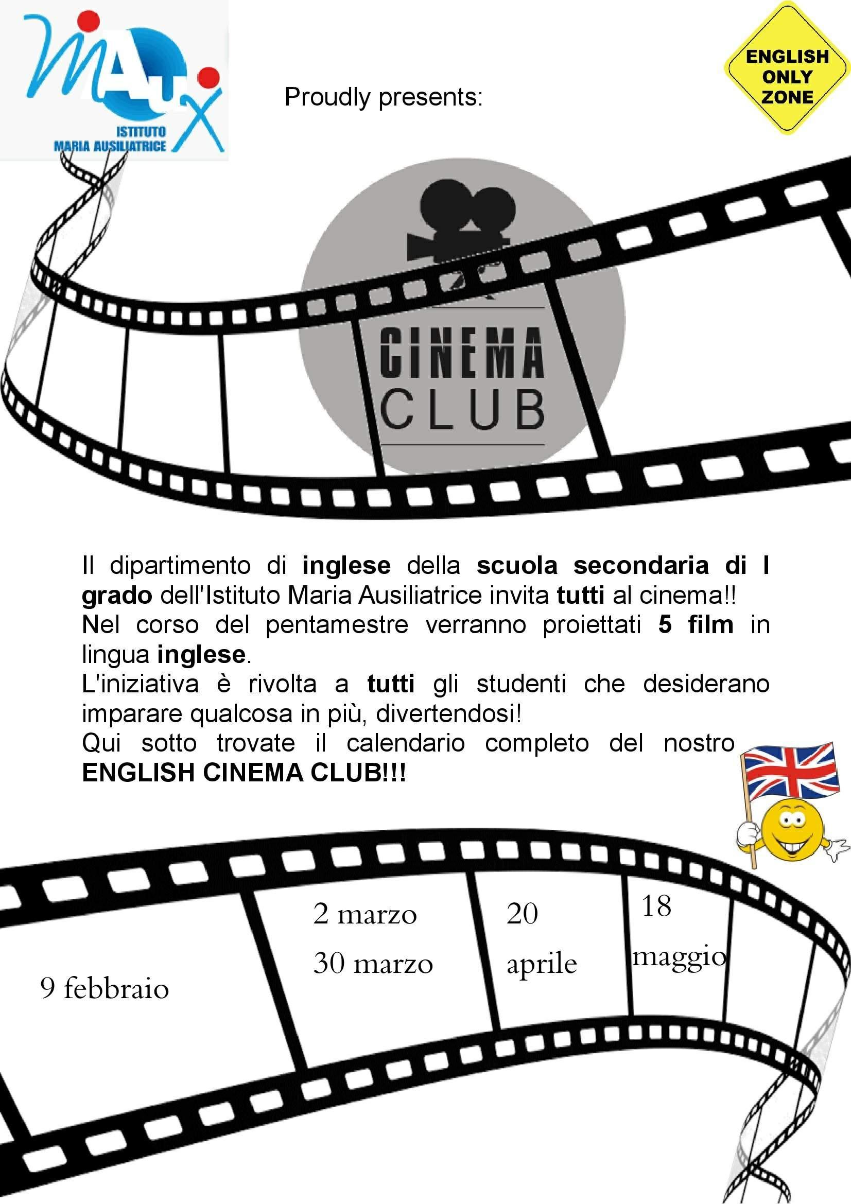 ENGLISH CINEMA CLUB