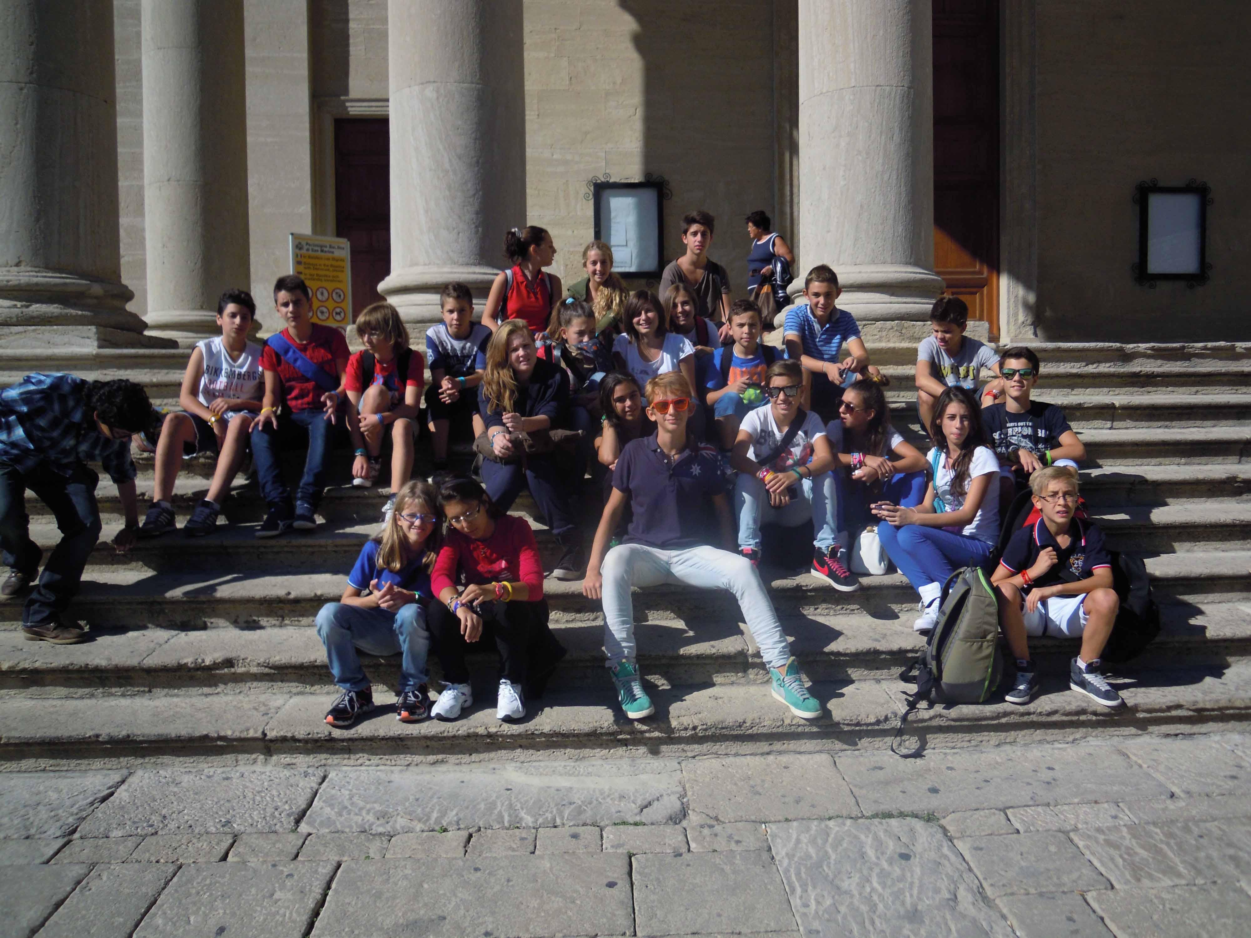 Gita delle 3° in Romagna