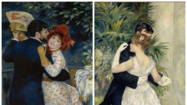 Visita alla mostra di Renoir